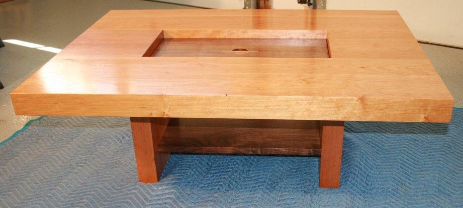 Lighthouse woodworking for Coffee tables you can sit on
